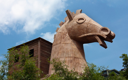Greece Trojan Horse